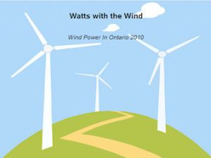 Wind Power in Ontario 2010