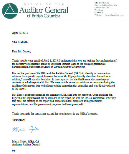 Bc auditor general confirms enviro activist elgies resignation 130412 hilary ostrov response spiritdancerdesigns Images